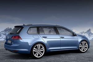 2013 VW Golf Variant: первые фото универсала