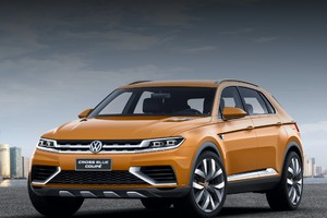 VW будет делать CrossBlue и CrossBlue Coupe в Китае