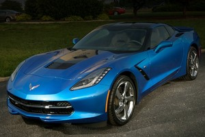 Chevrolet представил Corvette Stingray Premiere Edition