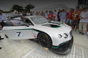 Bentley Continental GT3 получил 608 «лошадей»