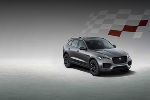 Jaguar Land Rover представляет Jaguar F-PACE Chequered Flag