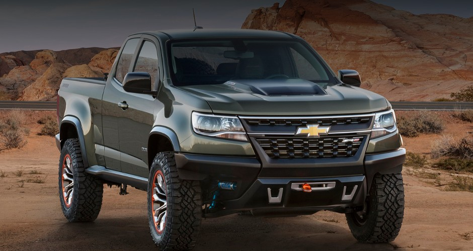 Презентация Chevrolet Colorado ZR2 в Лос-Анджелесе